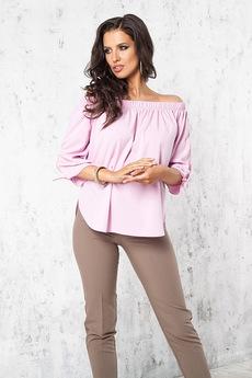 Розовая блузка Angela Ricci со скидкой